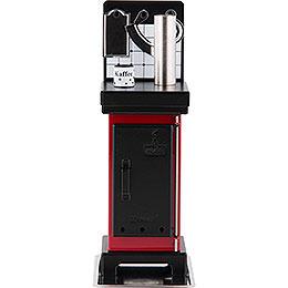 Incense cone stove red/black  -  19cm / 7.5inch