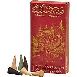 Knox Incense Cones  -  Rothenburg Christmas Fragrance Mix