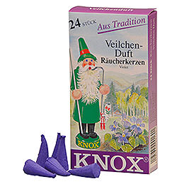 Knox Incense Cones  -  Violet