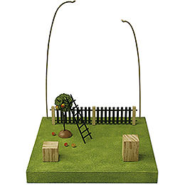 Kulisse 'Im Obstgarten'  -  28cm