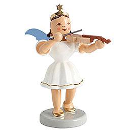 Kurzrockengel farbig Violine  -  6,6cm