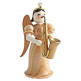 Langrockengel mit Saxophon, natur  -  6,6cm