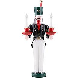 Lichterbergmann farbig, elektrisch beleuchtet  -  49cm