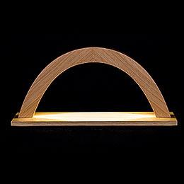 Light Arch  -  Oak  -  42x23x11cm / 16.5x9x4 inch