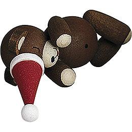 Lucky bear sleeping  -  2,7cm / 1.1inch