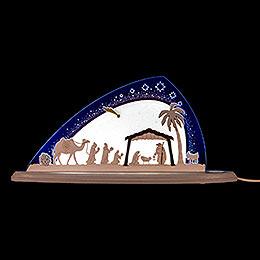 "Motive Light ""Nativity""  -  47x22cm / 18.5x8.7 inch"