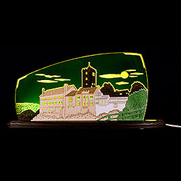 "Motive light ""Wartburg""  -  47x22cm / 18.5x8.7inch"