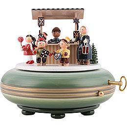 Music Box Christmas Fair  -  16cm / 6 inches