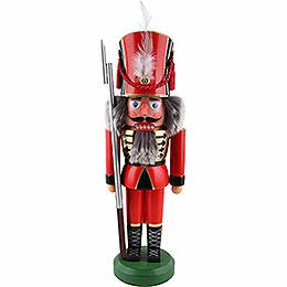 Nussknacker Soldat, rot  -  38cm