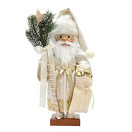 Nussknacker Weihnachtsmann gold limitiert  -  48cm