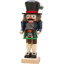 Nutcracker Black Forester with Cuckoo Clock  -  27,0cm / 10.6inch