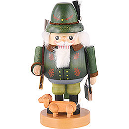 Nutcracker Forest Ranger with Dachsdog  -  8 inch  -  21cm