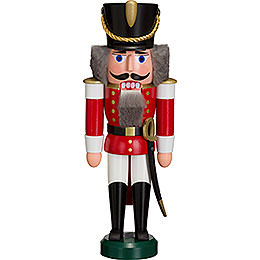 Nutcracker Hussar red  -  28cm / 11 inch