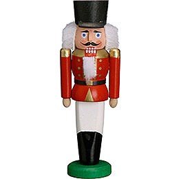 Nutcracker Hussar red  -  9cm / 3.5 inches