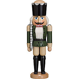 Nutcracker King  -  Ash  -   green  -  38cm / 15 inch