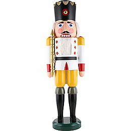 Nutcracker King white  -  100cm / 39inch