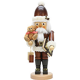 Nutcracker Santa Claus Teddy natural colors  -  44,0cm / 17 inch