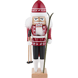 Nutcracker  -  Skiier Red  -  29cm / 11.4 inch