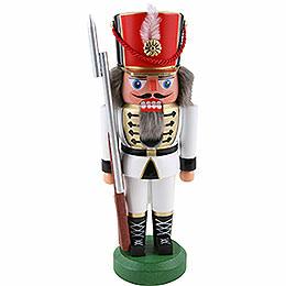 Nutcracker  -  Soldier, White  -  22cm / 8.6 inch