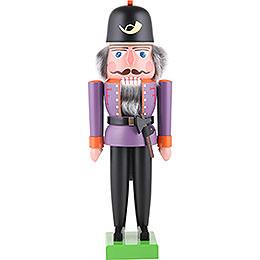 Nutcracker fireman purple  -  36cm / 14.2inch
