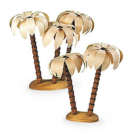 Palm tree groups  -  17cm / 7 inch