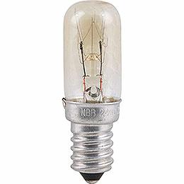 Radioröhrenlampe  -  Sockel E14  -  230V/7W