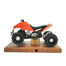 R�ucher - Quad in orange 22 x 13 x13cm
