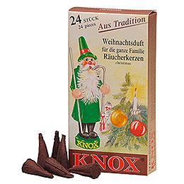 R�ucherkerzen  -  Weihnachtsduft