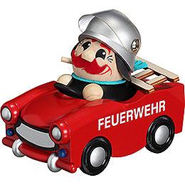 R�ucherm�nnchen Feuerwehr - Trabi  limitiert 2016  -  13cm