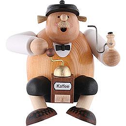 R�ucherm�nnchen Kantenhocker - Kaffeesachse  -  24cm