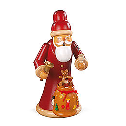R�ucherm�nnchen Weihnachtsmann mit Geschenken  -  23cm