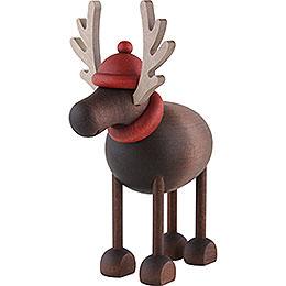 Rudolf the Reindeer standing  -  12cm / 4.7inch