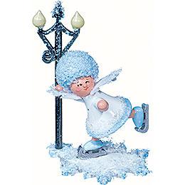 Schneeflöckchen Schlittschuhfahrer  -  5cm