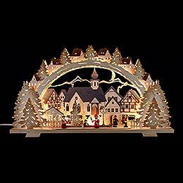 Schwibbogen  -  Adventszeit exclusiv  -  72x41x7cm