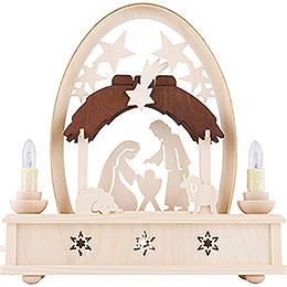 Seidelbogen Christi Geburt  -  25cm