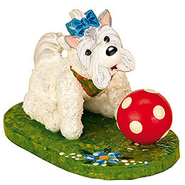 Set of Three -  My Dog  -  3cm / 1 inch