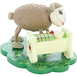 "Sheep ""Vati"" with ""Minni"" Dad with Lamb  -  5cm / 2 inch"
