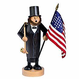 Smoker Abraham Lincoln  -  26cm / 10 inch