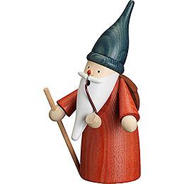 Smoker Gnome Wanderer  -  16cm / 6 inch