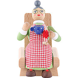 Smoker Grandmother  -  5 inch  -  13cm