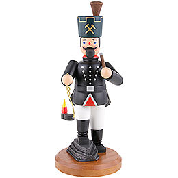 Smoker Miner with lamp and pick  -  22cm / 8.7inch