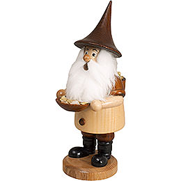 Smoker  -  Mountain Gnome with Ore Bowl  -  18cm / 7 inch