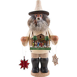 Smoker Nativity Set salesman  -  25cm / 10 inch