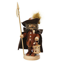 Smoker Nightwatchman  -  natural  -  26cm / 10 inch