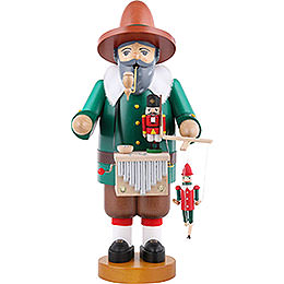 Smoker Puppet player with music tune  -  14 inch  -  36cm