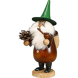 Smoker Rooty - Dwarf Coneman brown  -  19cm / 7 inches