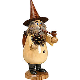 Smoker Rooty - Dwarf Coneman natural colors  -  19cm / 7 inches