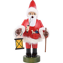 Smoker Santa Claus with Lantern  -   21cm  -  8 inch