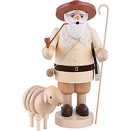 Smoker Shepherd with sheep  -  34cm / 13.4inch