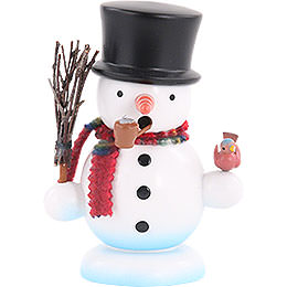 Smoker Snowman  -  15cm / 6 inch